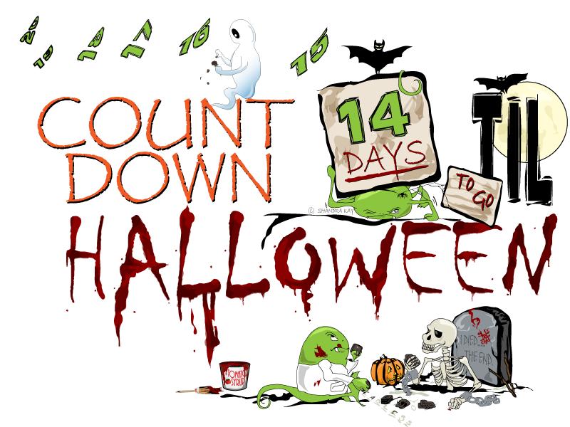 COUNTDOWN TILL HALLOWEEN - 14 DAYS